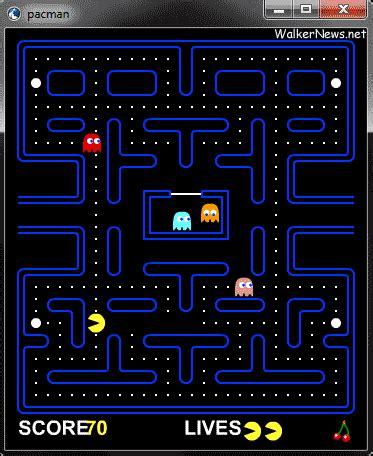 Download Adobe Air Version Of Free Pacman Game ? Walker News