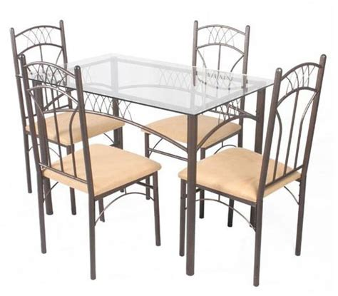 Products Steel Dining Table Set Manufacturer Dining Table Set Steel