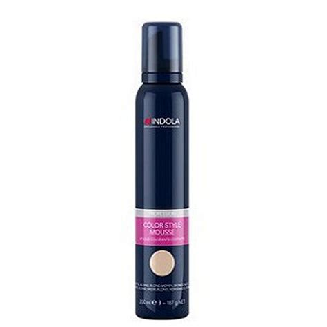 hair color mousse indola colour mousse 200ml 4045787162134 163 5 50 buy