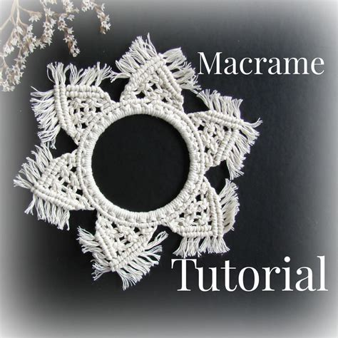 macrame patterns macrame tutorial diy macrame wall hanger
