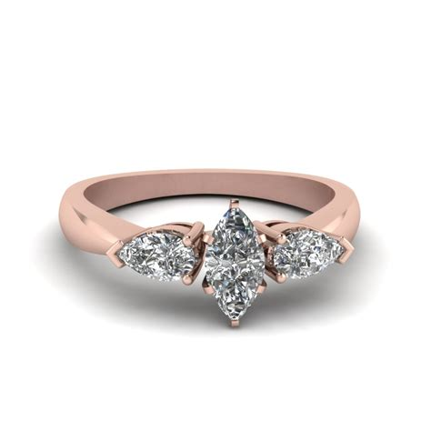Marquise Engagement Ring by Marquise Cut Engagement Rings Fascinating Diamonds