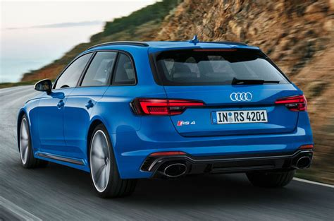 Rs 4 Audi by New Audi Rs4 Avant Unveiled With 125lb Ft Torque Boost