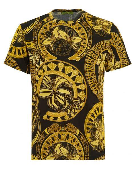 Versace Shirt versace mens t shirt all ornamental print