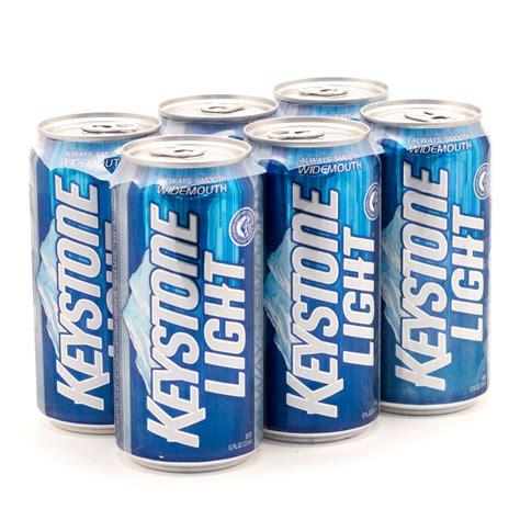 Keystone Light by Keystone Light 12oz Can 6 Pack Wine And Liquor