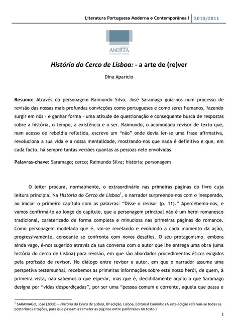 (PDF) História do Cerco de Lisboa: -a arte de (re)ver