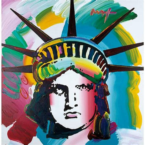 biography of peter max artist peter max works on sale at auction biography invaluable