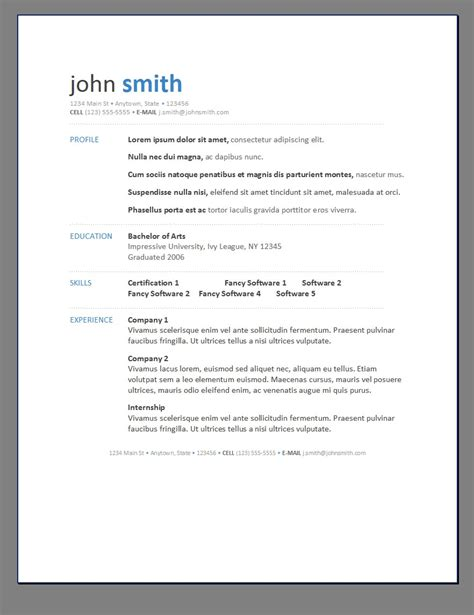 Free Resume Design Templates by Free Resume Templates Editable Cv Format Psd