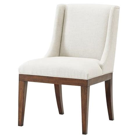 oatmeal linen wingback chair scoop this up modern classic oatmeal linen wingback dining