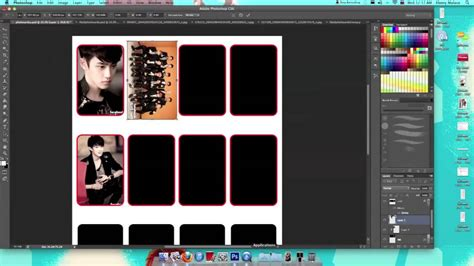how to make photo card templates in photoshop how to make photocards with photoshop