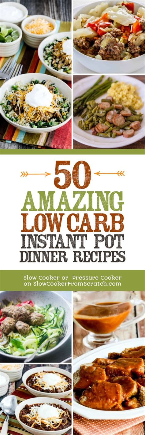 pork recipes 50 low carb pork recipes dump dinners recipes easy cooking recipes antioxidants phytochemicals soups stews and chilis cooker recipes volume 1 books 50 amazing low carb instant pot dinner recipes
