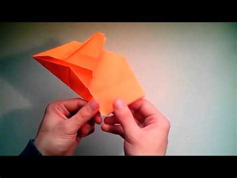 Origami F 16 - como hacer un avi 243 n de papel f 16 jet fighter origami