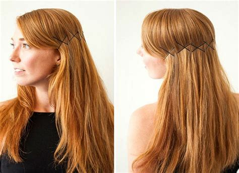 19 creative ways to hack your hairstyle with bobby pins