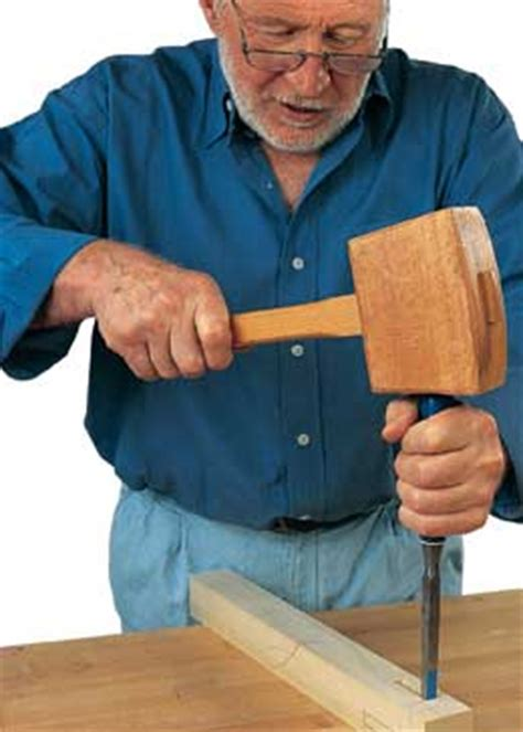 hand cut mortise  tenon joints woodworking