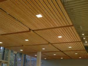 Ceiling Materials Ideas by Wood Grid Panel For Suspended Ceiling Asu Walter