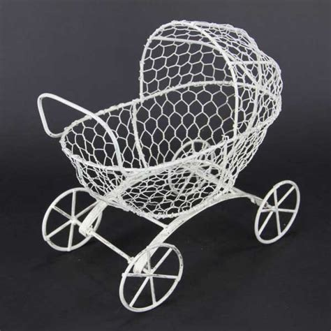 Wire Baby Stroller Centerpieces Baby Carriage Decorations Best Baby Decoration