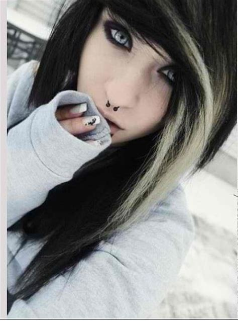 emo hairstyles black and white pinterest the world s catalog of ideas