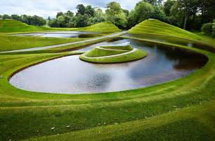 charles jencks cells of life is a manmade landscape