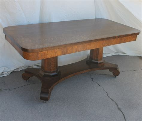 Antique Conference Table Bargain S Antiques 187 Archive Antique Quarter Sawn Oak Conference Table Or Work Table