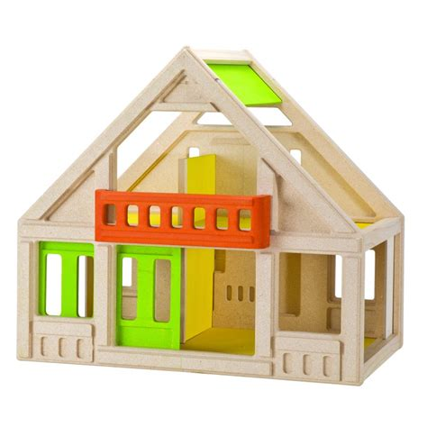 my first dolls house plan toys my first chalet dolls house