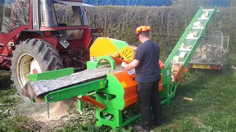 firewood saw bench for sale mechanical farm firewood processor handles knotty problems