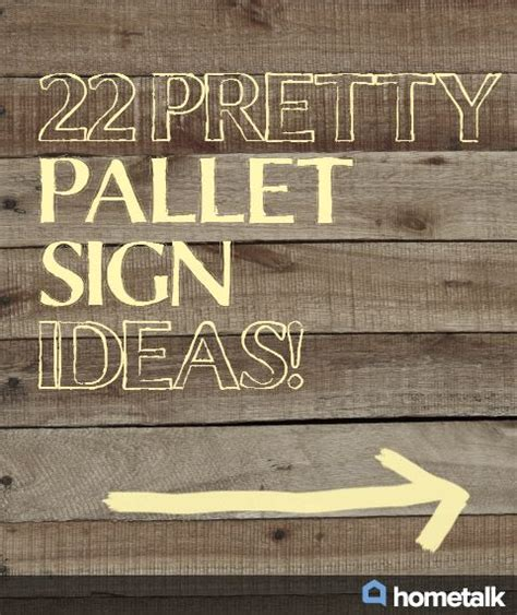Skyrim Sign Wood Pallet 22 pretty pallet sign ideas idea box by bell woodworking plans le veon bell and my