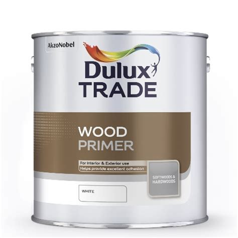 dulux exterior wood paint dulux trade wood primer white