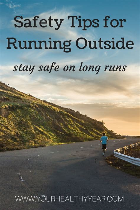9 tips for running safely four safety tips for running