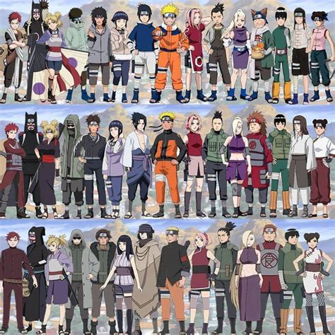 naruto team themes best 25 naruto characters ideas on pinterest naruto