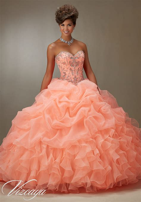 beaded bodice quinceanera dress style 89075 morilee