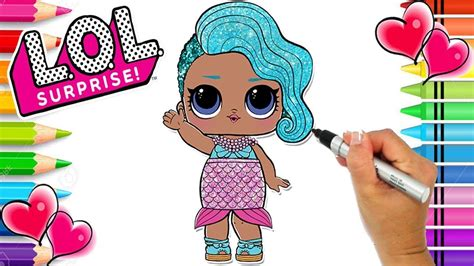 lol doll coloring pages splash queen   coloring pages