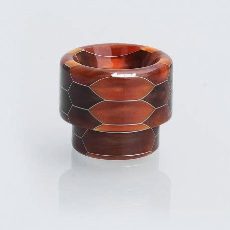 Sale Resin Summit For Rda Goon 810 brown resin 14mm drip tip for goon kennedy battle mad