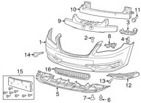 Chrysler 200 Parts Bumper Components Front For 2013 Chrysler 200