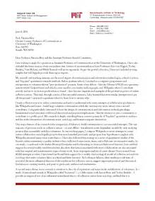 sample cover letter for academic advisor job application