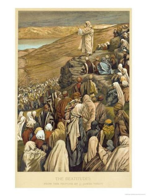 preaching that how to get the mountain of your messages with maximum impact books jesus preaches the sermon on the mount giclee print by