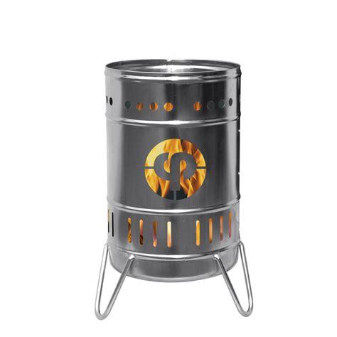 edelstahl feuerkorb individuell gestaltbarer feuerkorb 50 liter edelstahl