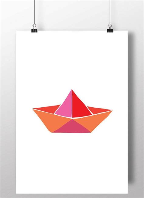 Origami Boat Printable - 537 best images about origami illustrations on