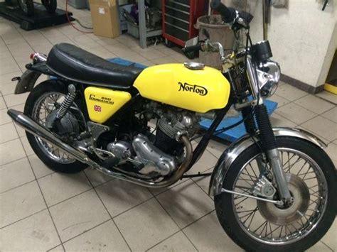 Motorrad Norton Kaufen by Motorrad Oldtimer Kaufen Norton Commando Moto Gaz Sa