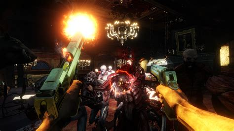 killing floor 2 shows action enemies and gore in new
