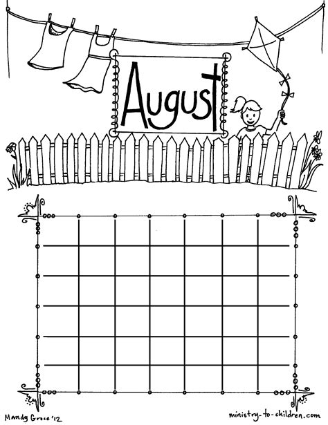 september coloring pages for kindergarten august coloring pages to download and print for free