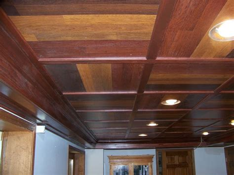 Rustic Drop Ceiling Tiles by Creative Drop Ceiling Ideas Search For The Farm