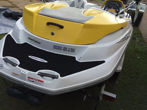 sea doo wave boat for sale sea doo sportster 4tec supercharged 215hp 2006 for sale