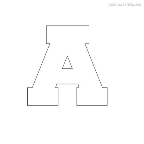 printable block letters template free printable block letter stencils stencil letters a