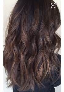 painting lowlights on gray hair 109 best images about beautiful brunettes on pinterest
