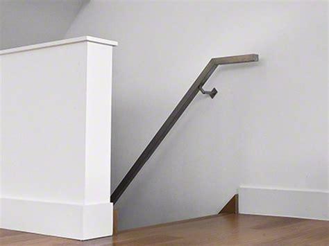 corrimano acciaio square line 40x40 corrimano by q railing italia