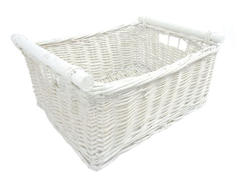 Wicker Log Baskets For Fireplaces by Large Wicker Log Basket Storage Logs Firewood Fireplace