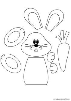 easter bunny paper bag puppet template easter bunny paper bag puppet this would be to use