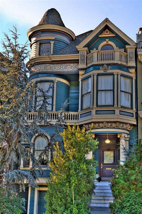 victorian house san francisco san francisco victorian print by paul owen
