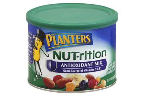 Planters Antioxidant Mix by Planters 174 Nut Rition Antioxidant Mix 9 25 Oz Kraft Recipes