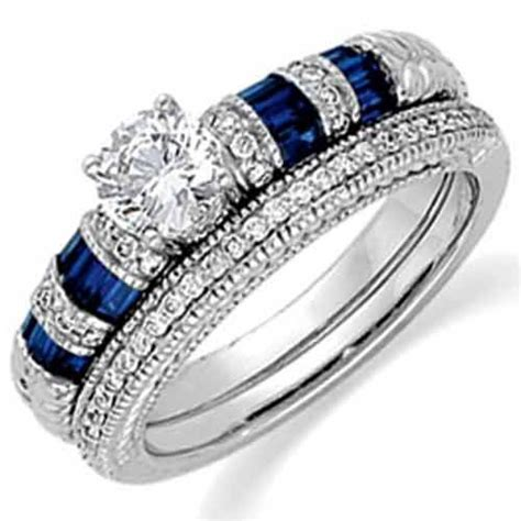 Wedding Rings Blue by Mixentry Blue Wedding Rings Design 2012