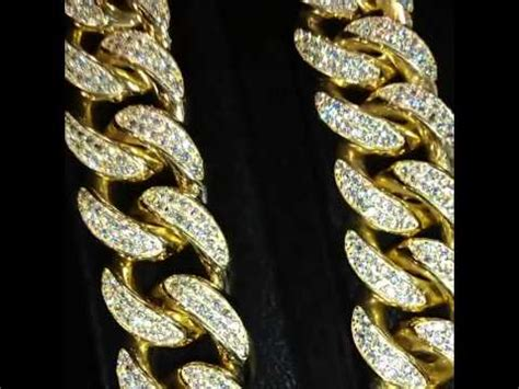 Handmade Cuban Link Chain - custom cuban link chain and bracelets